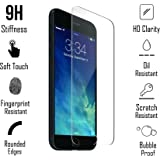 iPhone 8 Plus Screen Protector Tempered Glass for iPhone 8 Plus CaseYard Engineered Edge to Edge Perfect-Fit[Bubble Proof] Scratch Resistant UHD Clear