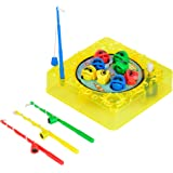 Simba Games and More 106062999 Fishing Game Up Function 10 x 10 cm Assorted Colours