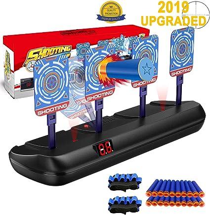 Electric Scoring Auto Reset Shooting Digital Target Guns Blast Toy For Kid