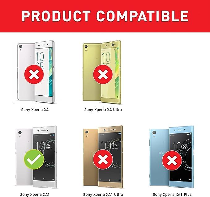 BEZ Funda Xperia XA1, Carcasa Compatible para Sony Xperia XA1 ...