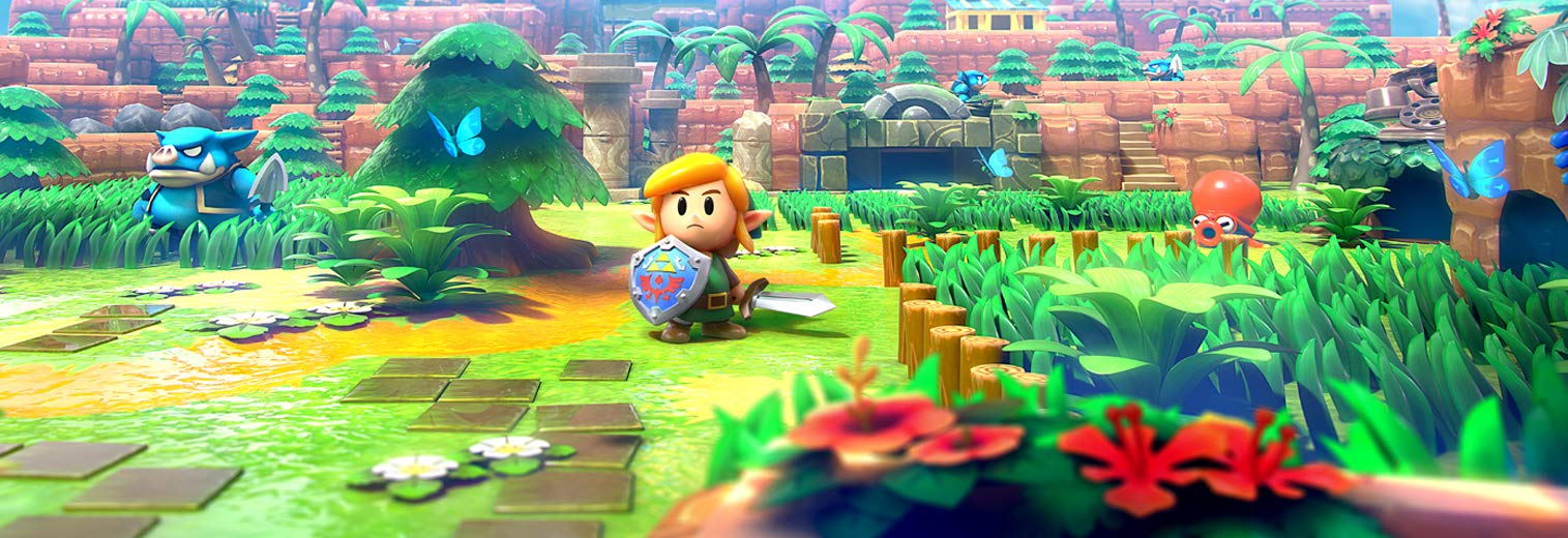 Amazon com: Legend of Zelda Link's Awakening - Nintendo