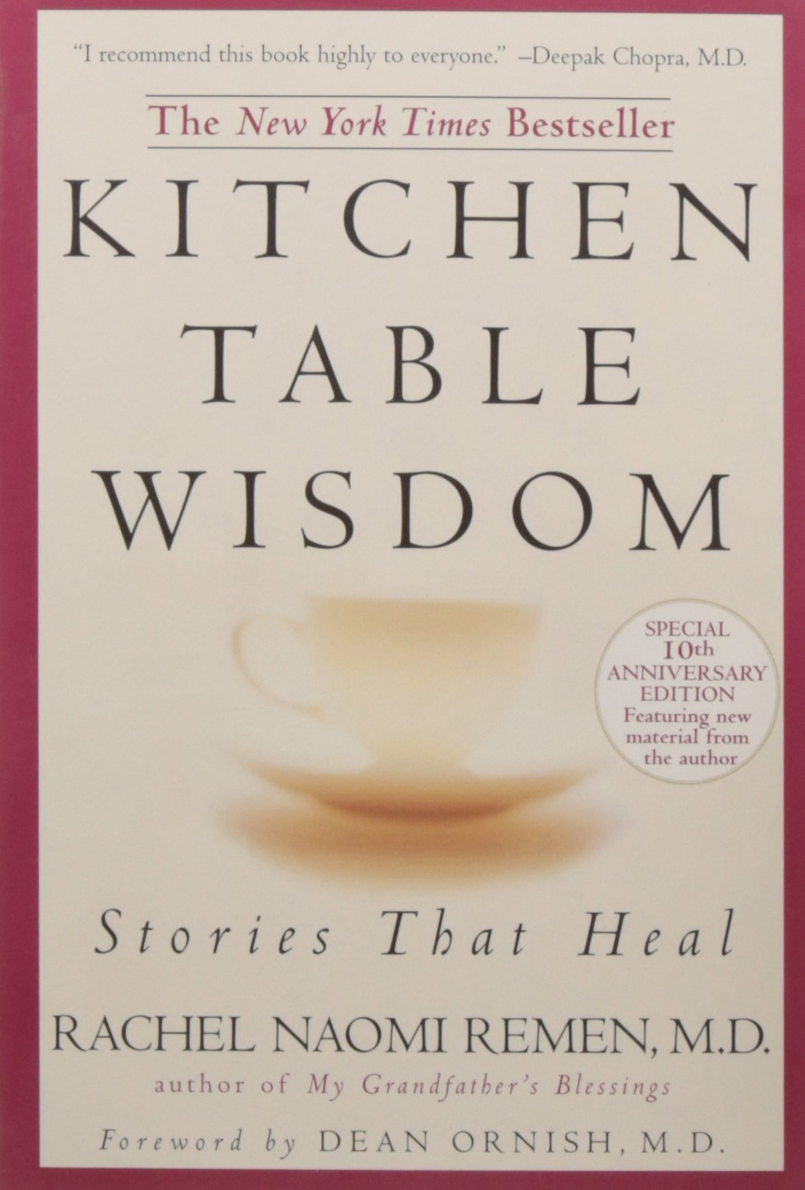 Kitchen Table Wisdom: Stories That Heal, 10th Anniversary Edition: Rachel  Naomi Remen: 8601400084052: Amazon.com: Books