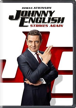 Amazon Com Johnny English Strikes Again Rowan Atkinson Ben Miller Olga Kurylenko Jake Lacy Emma Thompson David Kerr Tim Bevan Eric Fellner