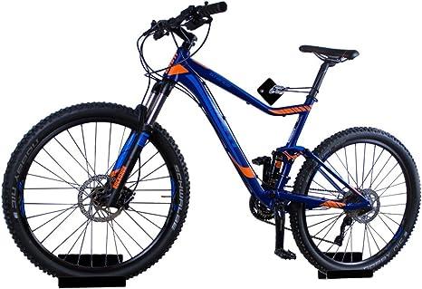trelixx Soporte de Pared para Bicicleta acrílico Negro (Acabado láser) para Bicicleta de montaña/de Carreras, Soporte de diseño para Bicicleta con Montaje en la Pared: Amazon.es: Deportes y aire libre