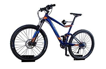 trelixx Soporte de Pared para Bicicleta acrílico Negro (Acabado láser) para Bicicleta de montaña