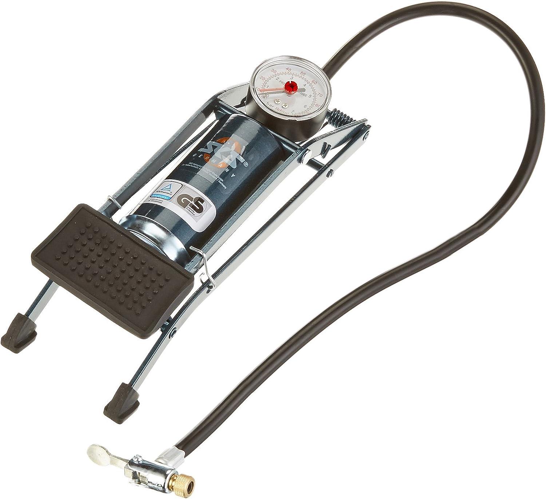 Sks Picco - Bomba de pie con manómetro, Color Azul