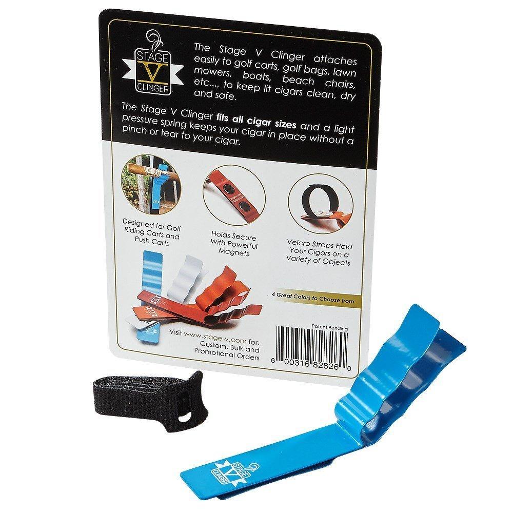 Stage V Clinger Magnetic Cigar Holder (Blue)