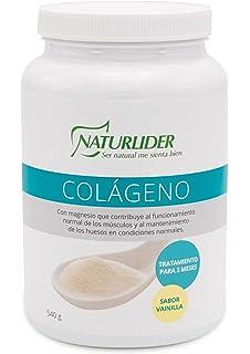 Naturlider Colágeno con Magnesio Sabor Vainilla Tratamiento para 3 Meses - 540 gr