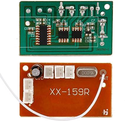 Placa principal del receptor para el coche de escalada RC 1 ...