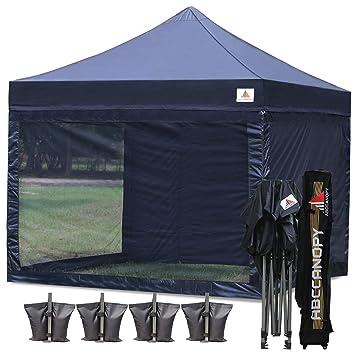 Amazon com : ABCCANOPY 10x10 Pop-up Canopy Tent Commercial