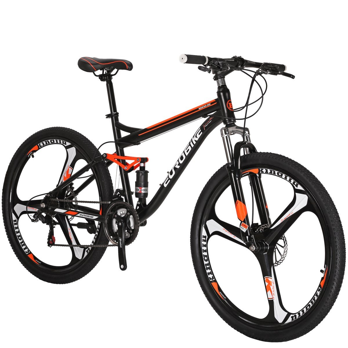 Eurobike Moutain Bike S7 Bicycle 21 Speed Mtb 27 5 Inches