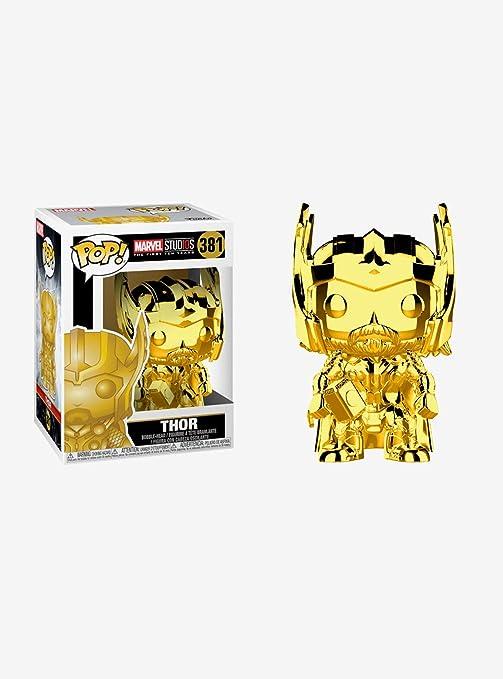Funko Pop Marvel Figura de Vinilo Thor (Cromado), Multicolor (33518)