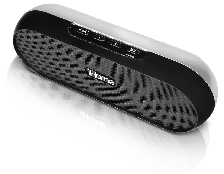 iHome IDM12 - Altavoces portátiles (1.0, Reproductor de MP3, Inalámbrico y alámbrico, Bluetooth/3.5 mm, A2DP, Batería) Negro: Amazon.es: Electrónica