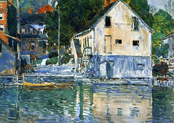 The Museum Outlet - Casa Eby, Cos Cob, 1906 - Canvas Print ...