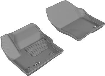 Kagu Rubber 3D MAXpider Complete Set Custom Fit All-Weather Floor Mat for Select Infiniti QX30 Models Tan