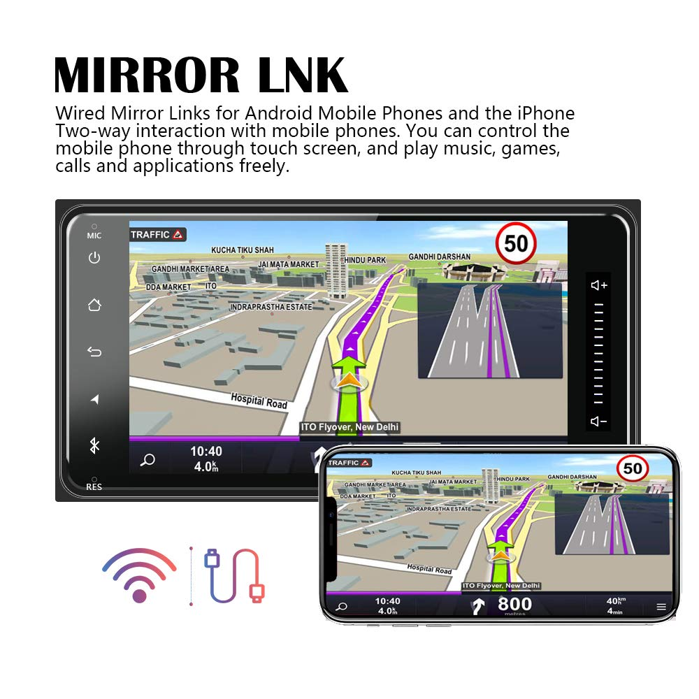 Amazon.com: Car Stereo Double Din for Toyota Corolla Android ...