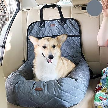Funda para asiento de coche para perro, impermeable, duradera, antideslizante, accesorios de