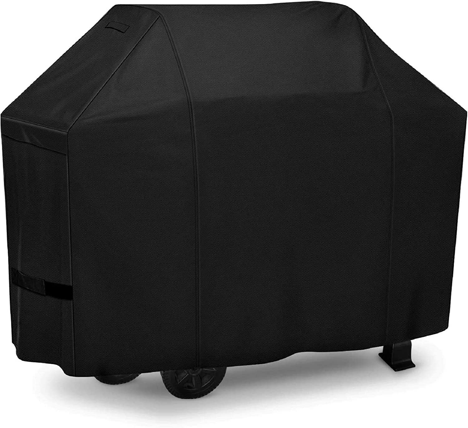 iCOVER Grill Cover 50in, 600D Heavy Duty with Mesh Air Vent, Waterproof Barbecue Gas Smoker Cover, UV and Fade Resistant, Fit for Weber Char-Broil Nexgrill Brinkmann and More