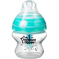 Tommee Tippee Advanced Anti Colic Feeding Bottle, 150ml, Clear