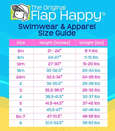 Multi 5 Flap Happy Girls Zip-up Rash Guard