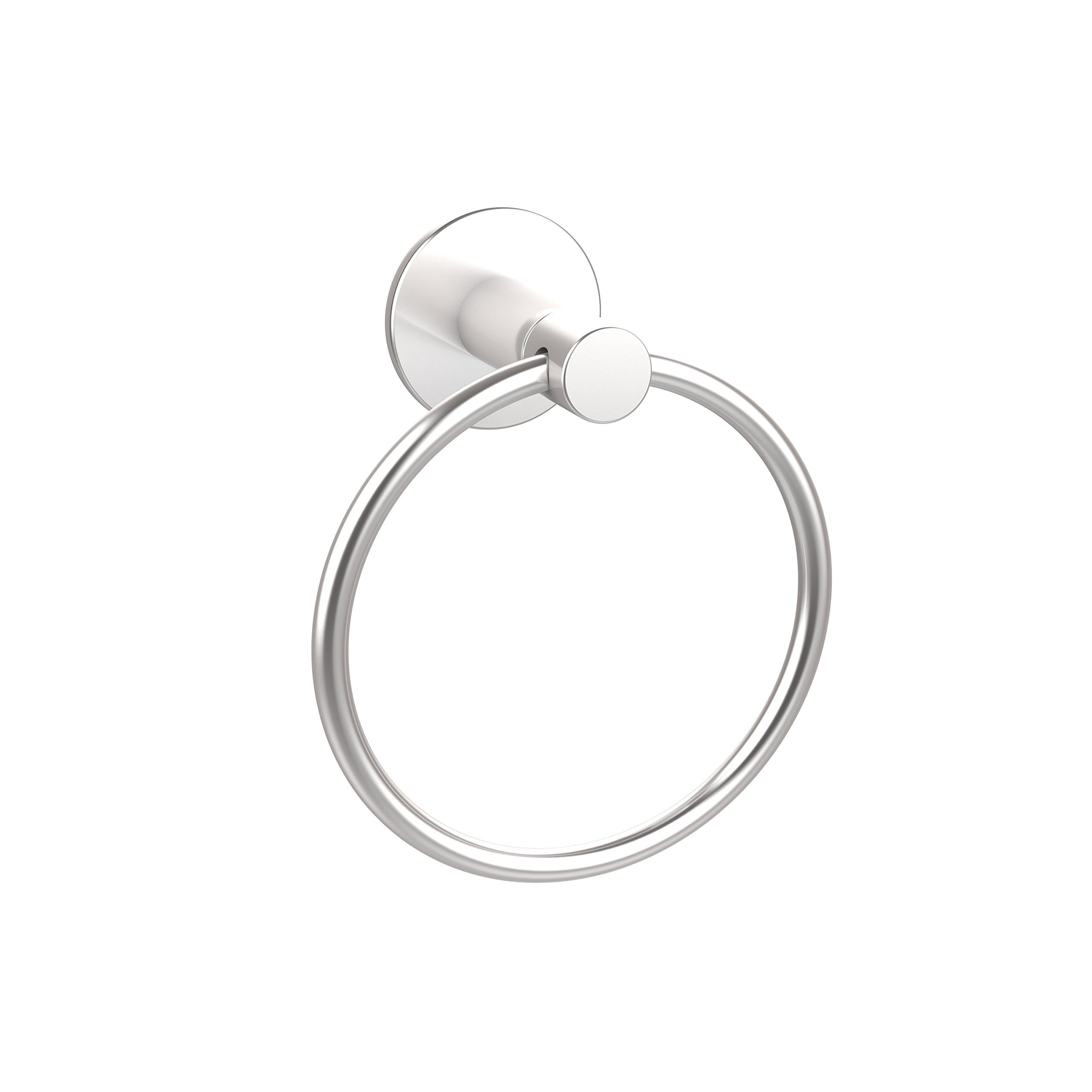 Allied Brass FR-16-SCH Fresno Collection Towel Ring Satin Chrome