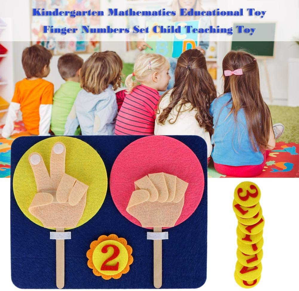 Coseyil Maternelle Math/ématiques Jouet /Éducatif Finger Numbers Set Child Teaching Toy