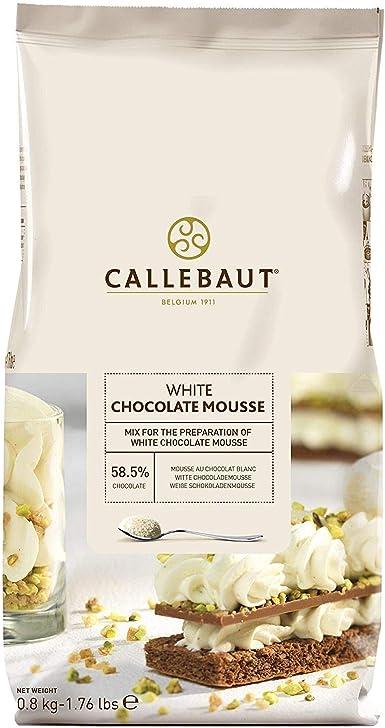 Callebaut polvo de mousse de chocolate blanco: Amazon.es: Alimentación y bebidas