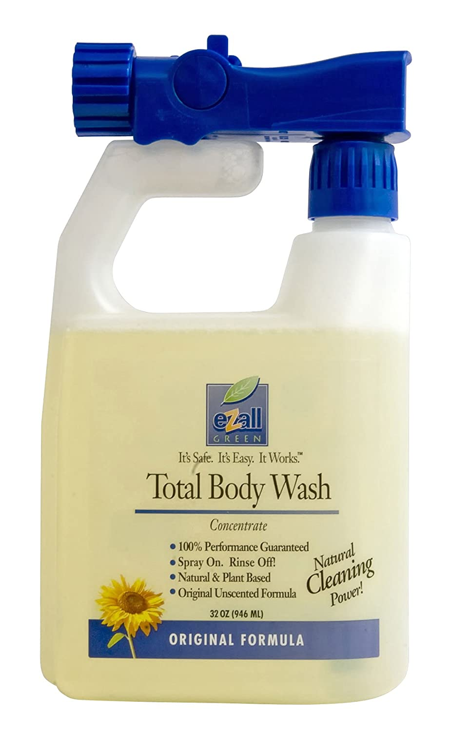 eZall Original Total Body Wash 32 oz