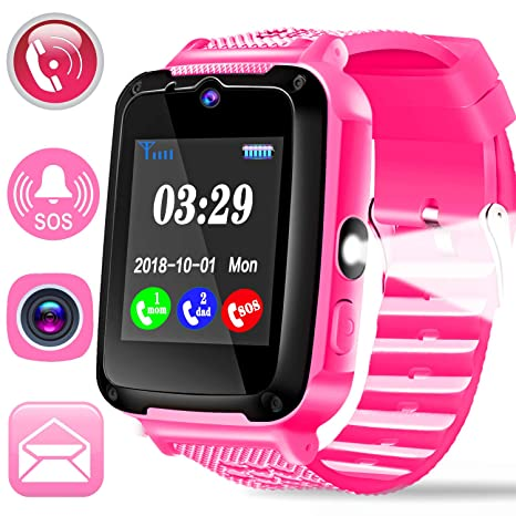 Kids Phone Smart Watch for 3-14 Year Girls Boys with 1.44