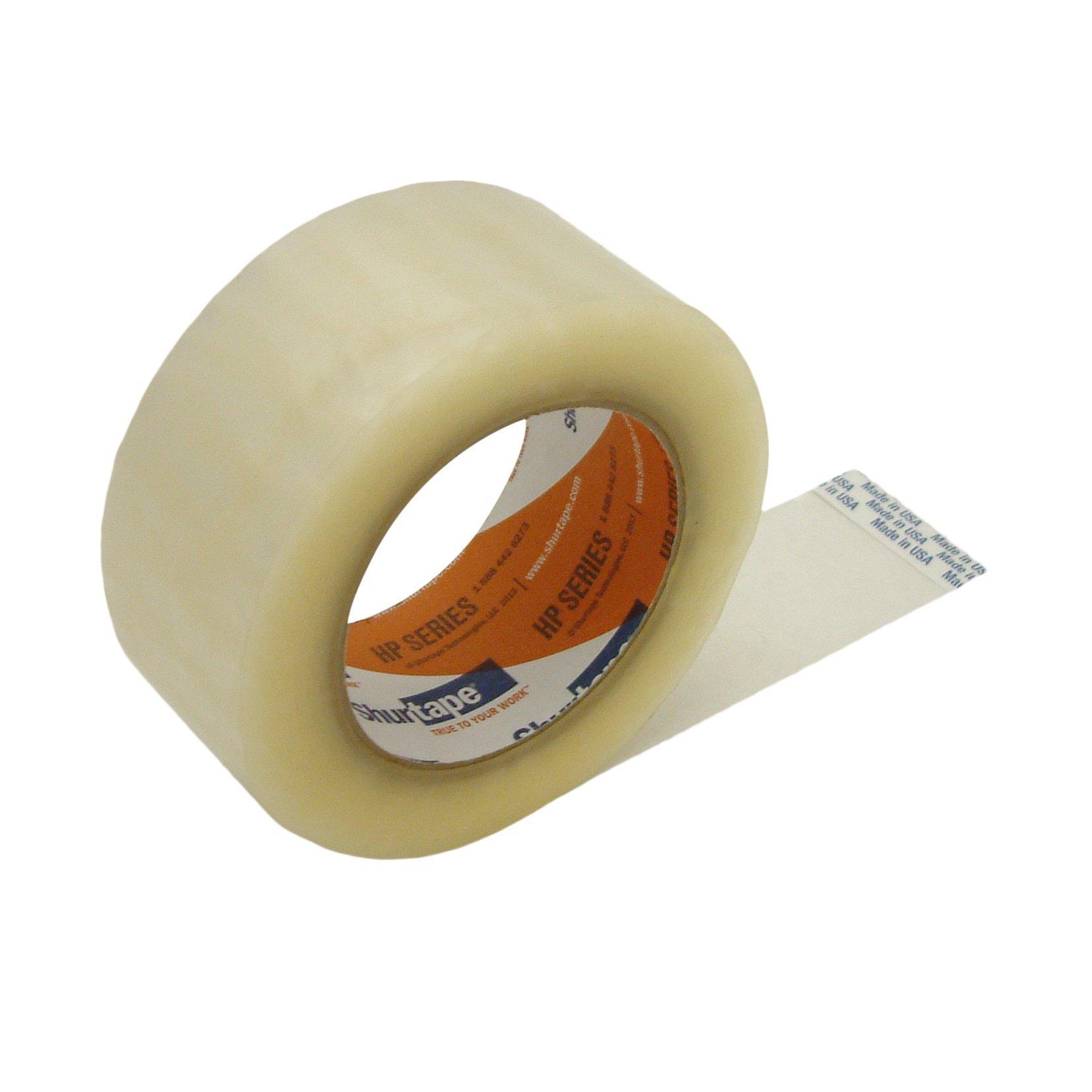Shurtape HP-400/CLR2110 Shurtape HP-400 High-Performance Grade Packaging Tape: 2'' x 110 yd, Clear