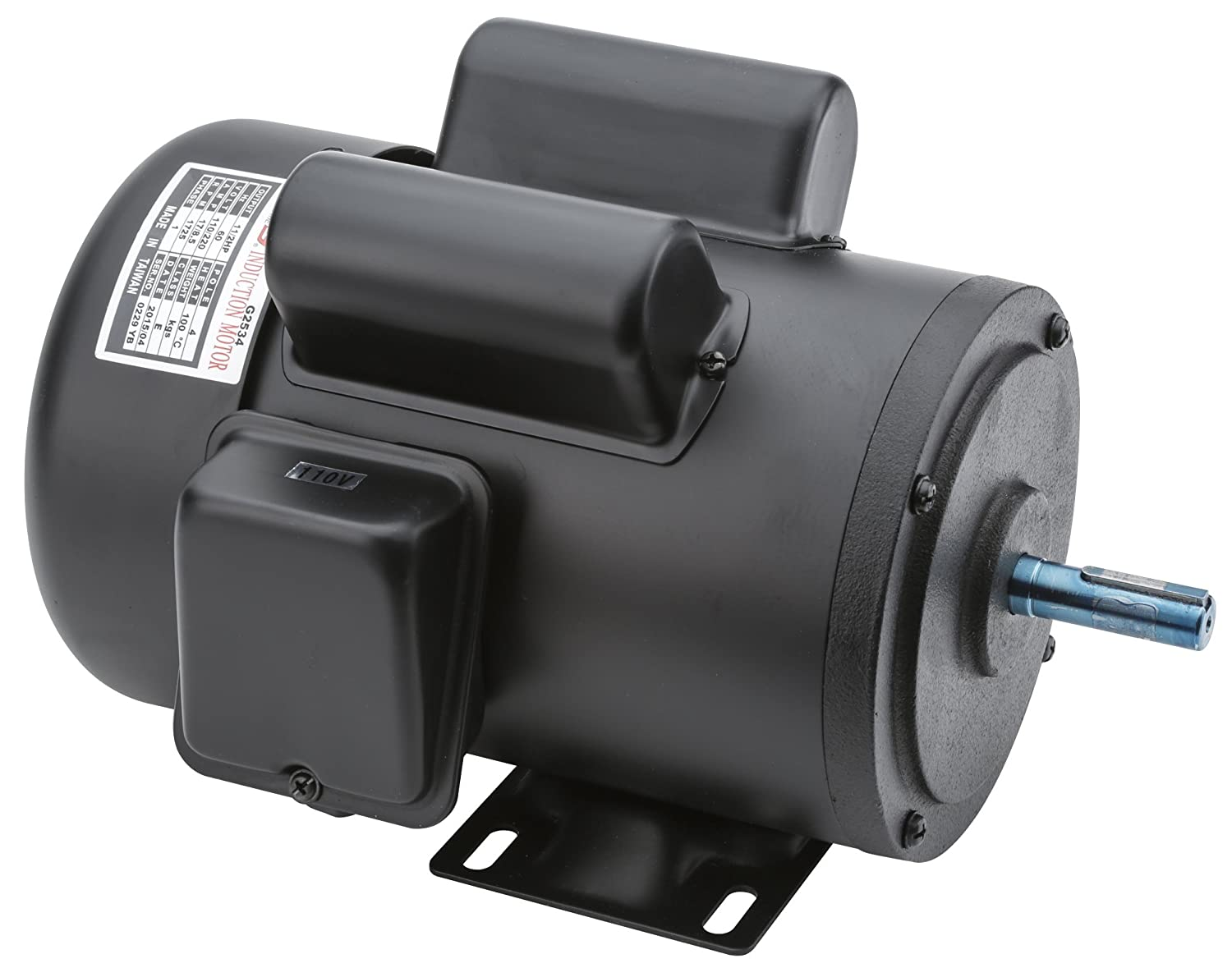 Grizzly G2534 Single-Phase Motor