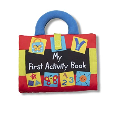 Melissa & Doug K'S Kids My First Activity Book 8-Page Soft Book for Babies & Toddlers: Toys & Games