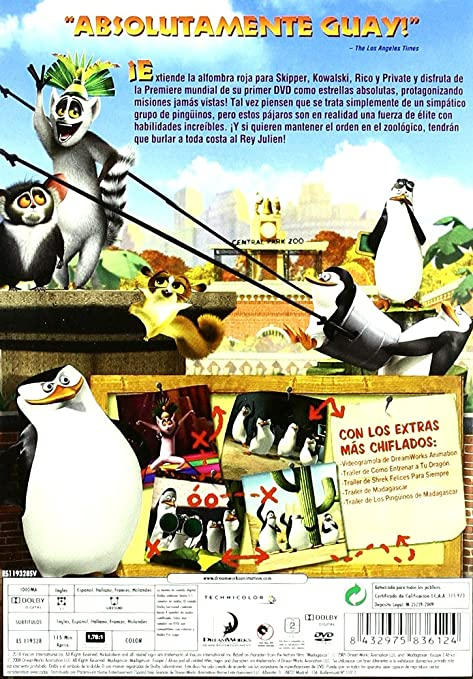 Amazon.com: Pack Los Pingüinos De Madagascar: Operación Invasión + Feliz Día (Import Movie) (European Format - Zone 2): Movies & TV