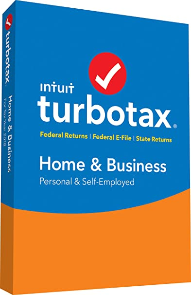 TurboTax® Home & Business CD/Download Tax Software for Personal & Business Taxes
