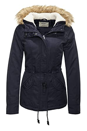 afcc20a0d19cbb ONLY Damen Onllorca Short Canvas Parka Cc OTW Jacke: Amazon.de: Bekleidung