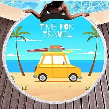 Simmia Home Beach Mat,Manta de Picnic,Extra Grande sin Arena, Toalla de
