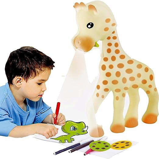 Amazon.com: Little Treasures Jirafa Art Proyector para niños ...