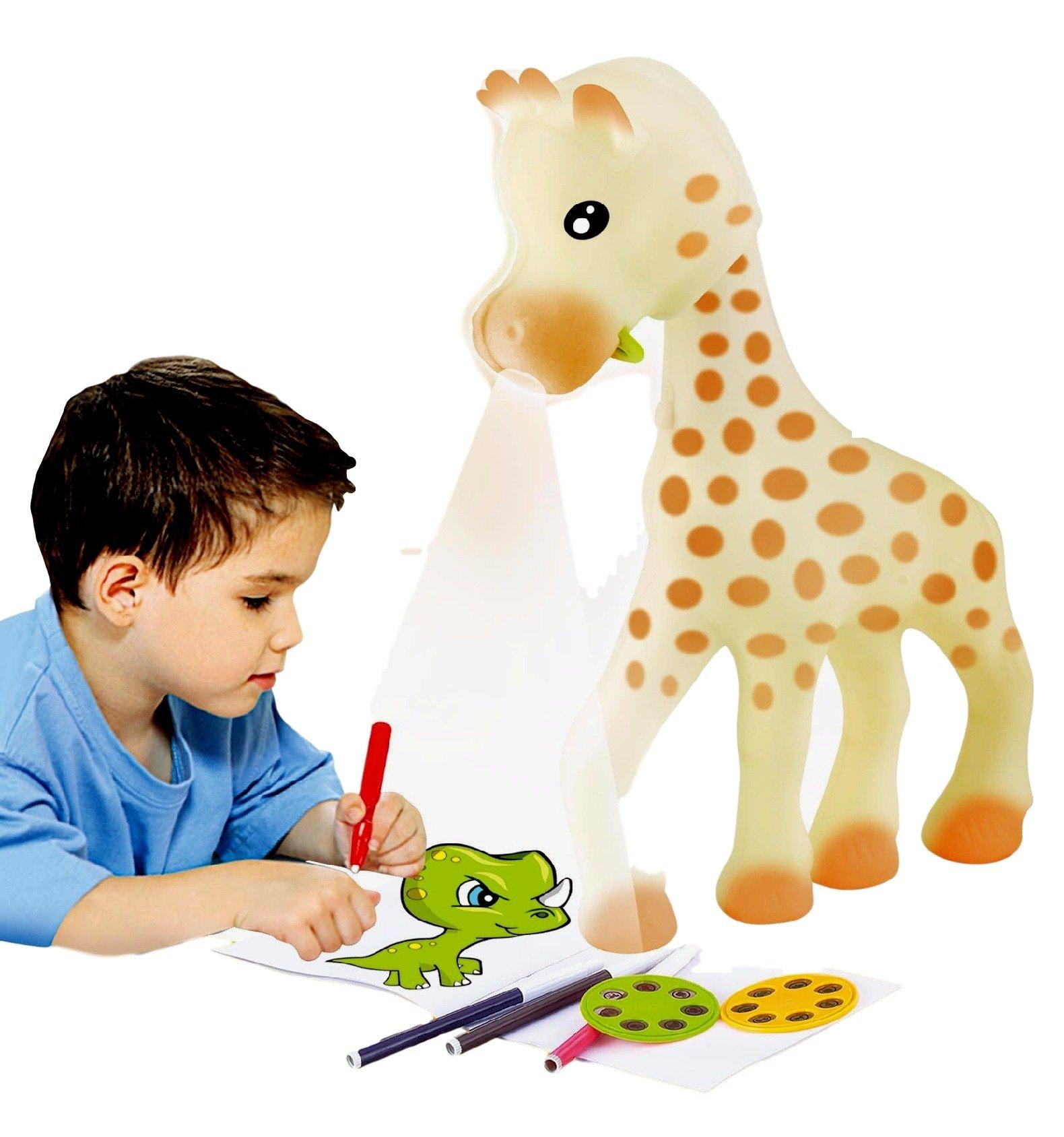 Little Treasures Giraffe Art Projector for Kids Draw and Sketching Artist Set