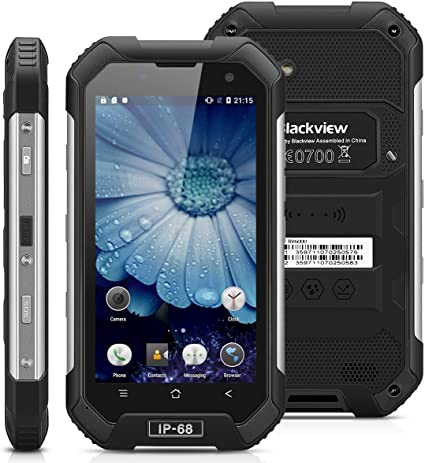 Blackview BV6000-32GB Smartphone Libre Impermeable IP68 (Android 6, 4G LTE, Pantalla 4.7