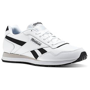Reebok ROYAL Glide LX–Chaussures de sport, Homme, Blanc–(cp-white/Black/Steel)