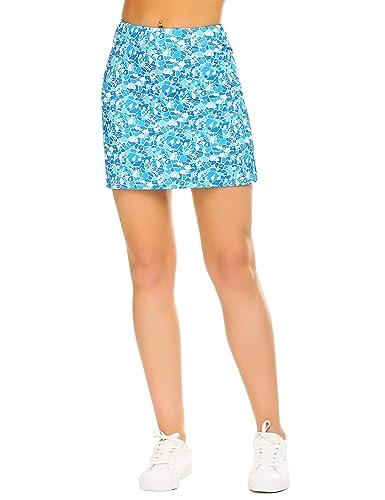 Ekouaer Women's Active Performance Skort Lightweight Skirt for Running  Tennis Golf Workout Sports (Pocket_Ice Crack, X-Small) in Kenya | Whizz Active  Skirts