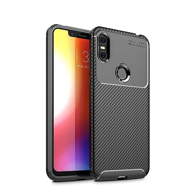Kugi Funda Motorola One/Moto Android One,Motorola One/Moto Android One TPU Transparente Slim Silicona Case Cover [Anti-arañazos] para Motorola One/Moto ...