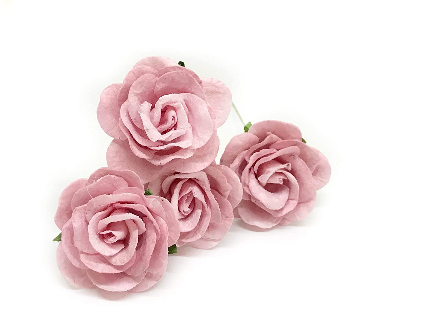 Amazon 15 Blush Pink Paper Flowers Mulberry Paper Flowers