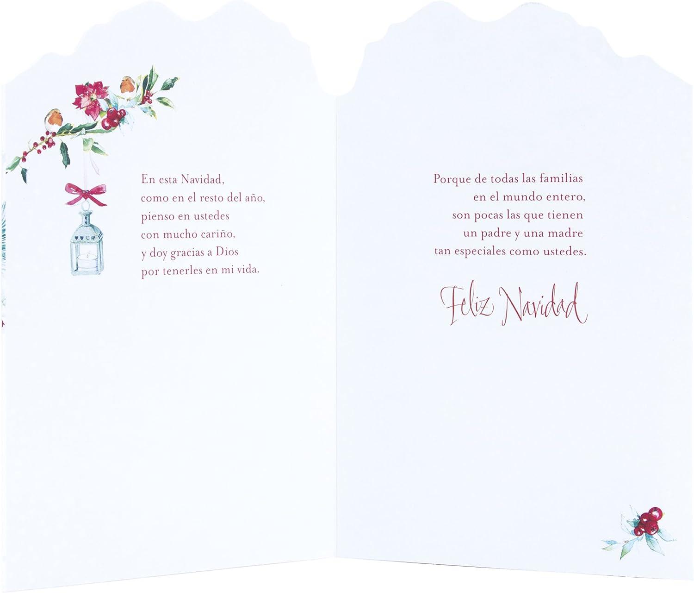 Hallmark Vida - Tarjeta de felicitación navideña para hijo (Bulldog con corona), color Aves en Corona: Amazon.es: Electrónica