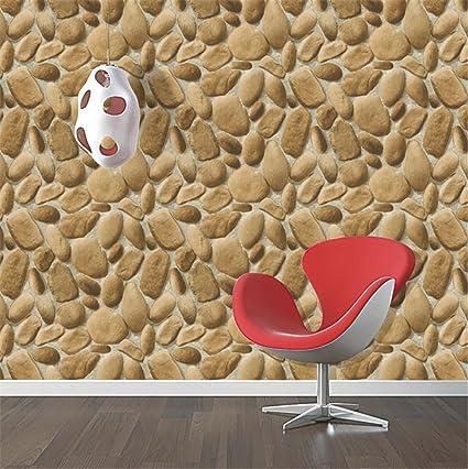 Lujo piedra ladrillo pared vinilo rollo de papel pintado para la pared 3d salón fondo PARED