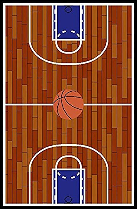 Amazon.com: Furnish My Place 690 - Alfombra de baloncesto ...