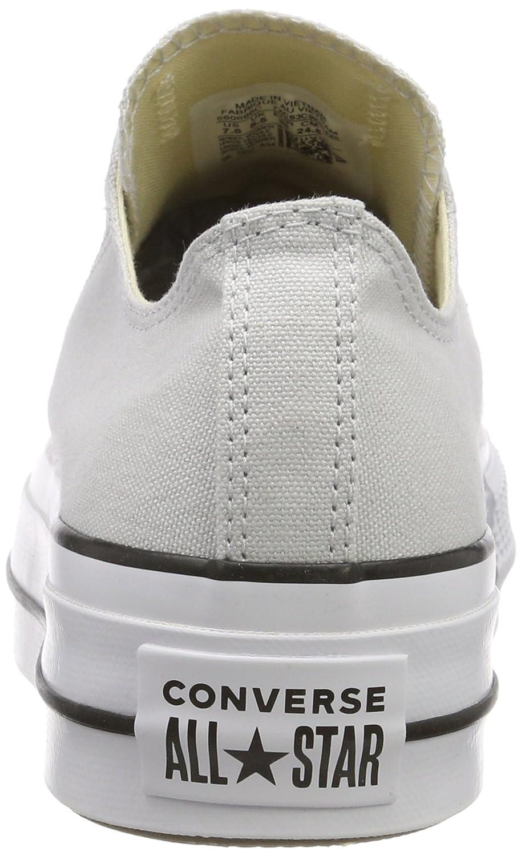Converse Converse Converse Damen CTAS Lift Ox Mouse Weiß schwarz Turnschuhe  1738c0