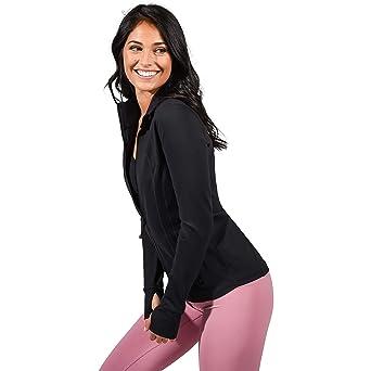 90 Degree By Reflex Women's Lightweight, Full Zip Running Track Jacket