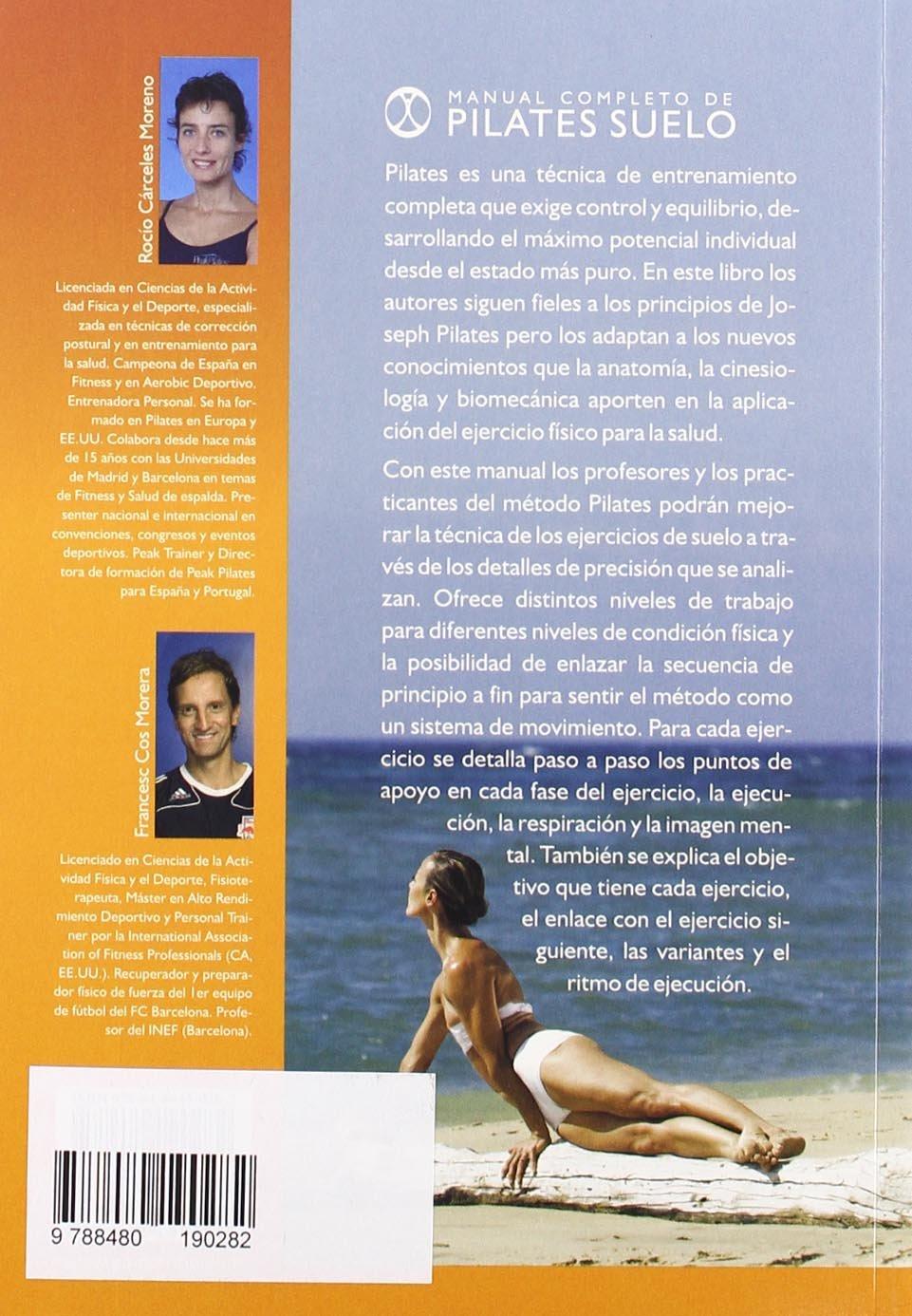 Manual Completo De Pilates Suelo (Spanish Edition): Rocio ...