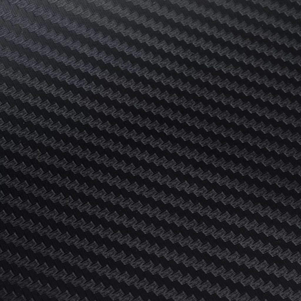 Tidyard 3D Kohlefasser Auto Folie Matt Selbstklebend Klebefolie umweltfreundliches PVC 3DKohlefasser Optik